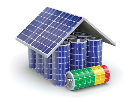 How do you choose a battery for solar system
